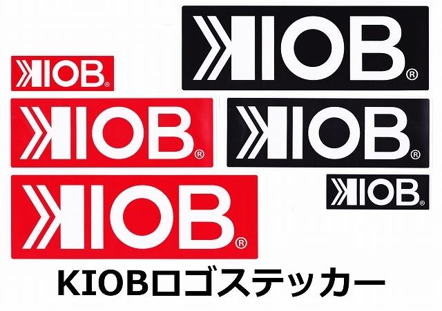 10FTU 10フィートアンダー 「KIOBロゴステッカー」【クリックポスト送料180円発送可】