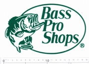 BassProShops バスプロショップス 「ロゴビニールデカール」