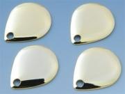 日本の部品屋 「コロラド型ブレード NO.2 ブラス製 ゴールド」