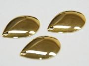 日本の部品屋 「コロラド型ブレード NO.3 ブラス製 ゴールド」