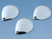 日本の部品屋 「コロラド型ブレード NO.3 ブラス製 シルバー」