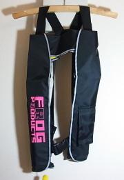 FROG フロッグプロダクツ 「インフレータブル 手動膨張式 ライフジャケット」【送料無料】