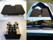 【送料別途】【同梱不可】篠工房 「折りたたみ式フラットペダルデッキ 10・14f専用」