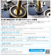 五十鈴工業 トライアングル 「カーボン ドラグ ワッシャー」 【クリックポスト発送可】