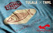 ★ご予約商品★ 津波ルアーズ 「Fish Tee TULALA ×TNML」 【クリックポスト発送可】 ※7月中旬頃発売予定