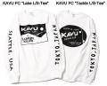 """★ご予約商品★ランカーキラー 「KAVU FC""""Tackle L/S-Tee""""」<3/14(水)まで>5月上旬入荷予定"""