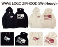 LunkerKiller ランカーキラー 「WAVE LOGO ZIPHOOD SW Heavy ウェーブロゴ ジップパーカー ヘビー」