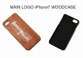 ランカーキラー 「MAIN LOGO iPhone7 WOODCASE」