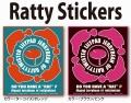 ラッティーツイスター 「RATTY STICKER ラッティーステッカー」