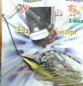 バクシンルアーデザインズ 「驀進バズベイト バクシンバズベイト 3/8oz」【クリックポスト送料180円発送可】
