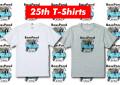 ★ご予約商品★ バスポンド 「BP25周年記念Tシャツ」 【クリックポスト発送可】 ※5月下旬発売予定