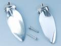 日本の部品屋 「コンプリートウイングアルミ製 シルバー」