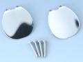 日本の部品屋 「NO.4リップ ステンレス製 シルバー」
