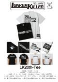 ★ご予約商品★ ランカーキラー 「LK20th-Tee」 <2/24(日)まで> 2月下旬入荷予定
