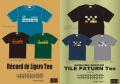 ★ご予約商品★ レコード 「Tシャツ TILE Record de ligero」 【クリックポスト発送可】 ※6月下旬頃入荷予定