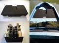 篠工房 「折りたたみ式フラットペダルデッキ 10・14f専用」