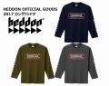 SMITH スミス 「HEDDON ヘドン 2017 ロングTシャツ」