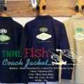 ★ご予約商品★ 津波ルアーズ 「TNML Fish - Coach Jacket」 ※12月中旬頃入荷予定