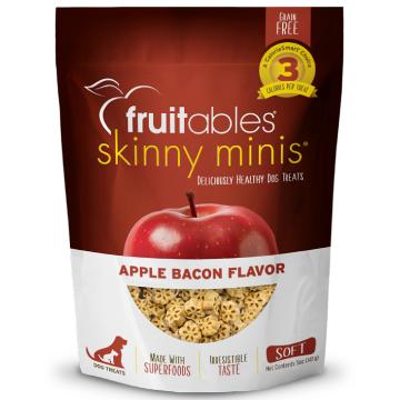 [fruitables:フルータブル] アップル&ベーコン ソフトビスケット 犬用おやつ 穀物不使用