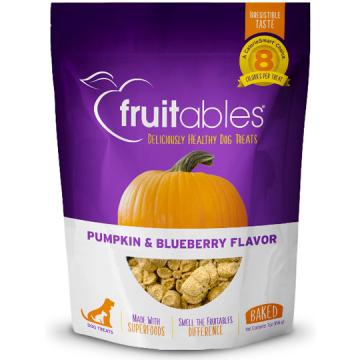 [fruitables:フルータブル] パンプキン&ブルーベリー ベイクドビスケット 犬用おやつ 小麦粉不使用