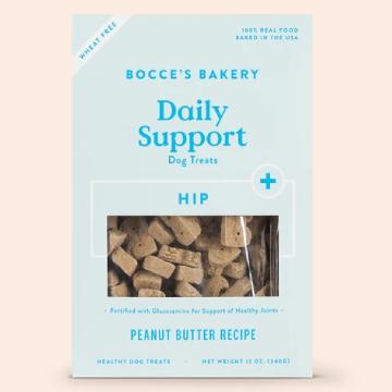 [BOCCE'S BAKERY:ボッチェーズベーカリー]   関節ケアビスケット ピーナッツバター 340g 小麦粉不使用 ドッグトリーツ