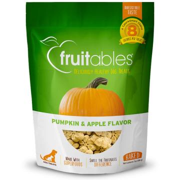 [fruitables:フルータブル] パンプキン&アップル ベイクドビスケット 犬用おやつ 小麦粉不使用