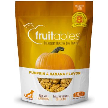[fruitables:フルータブル] パンプキン&バナナ ベイクドビスケット 犬用おやつ 小麦粉不使用