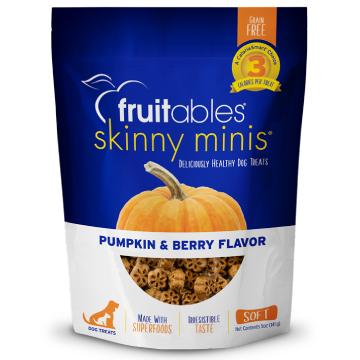 [fruitables:フルータブル] カボチャ&ベリー ソフトビスケット 犬用おやつ 穀物不使用