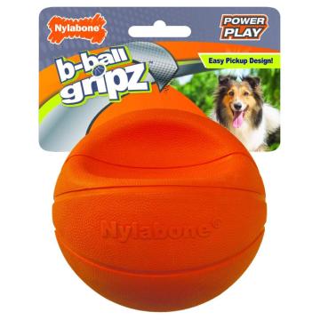 [ナイラボーン] パワープレイドック バスケットボールMサイズ 犬用おもちゃ ストレス発散