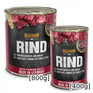 [ベルカンド] ビーフ 缶詰 400g/800g ドイツ産 モイストフード