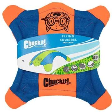 [チャック イット] フライング・スクワレル S/M/L 犬用おもちゃ 水に浮く フリスビー