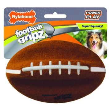 [Nylabone:ナイラボーン] パワープレイドック フットボールMサイズ 犬用おもちゃ ストレス発散