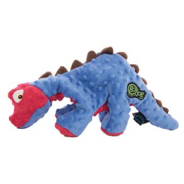 go Dog ゴードッグ・丈夫で楽しい・  Large Spike ステゴサウルス(ブルー)  42cm 柔らか丈夫な犬用おもちゃ