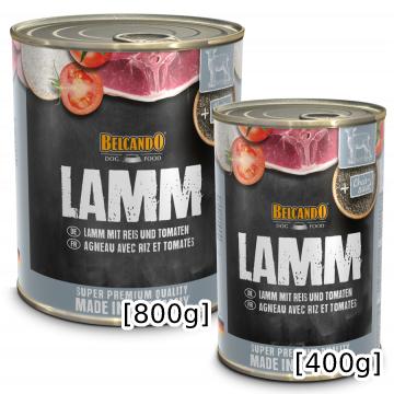 [ベルカンド] ラム 缶詰 400g/800g ドイツ産 モイストフード