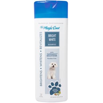 [マジックコート] ブライトホワイトシャンプー:白い被毛の子に アーモンド・シアバターの香り 473ml