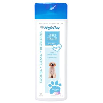 [マジックコート] 目に優しい 子犬用シャンプー ベビーパウダーの香り 473ml