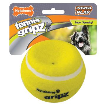 [ナイラボーン] パワープレイドック テニスボールLサイズ 犬用おもちゃ ストレス発散