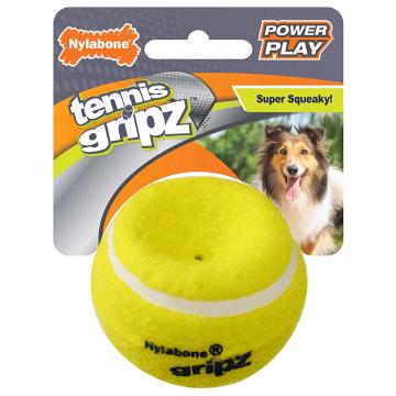 [Nylabone:ナイラボーン] パワープレイドック テニスボールMサイズ 犬用おもちゃ ストレス発散