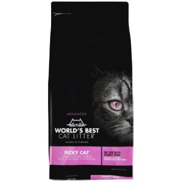 [ワールドベストキャットリター(猫砂)] ピッキーキャット 2kg/5kg 気難しいネコに/トイレに流せる/ナチュラル原料で安心・安全
