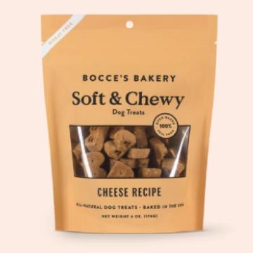 [ボッチェーズベーカリー] ソフト&チューイ チーズ 170g やわらかいビスケット 小麦粉不使用 ドッグトリーツ