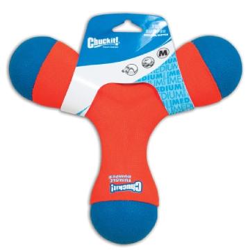 [チャック イット] トライバンパー 犬用おもちゃ 水に浮く フリスビー