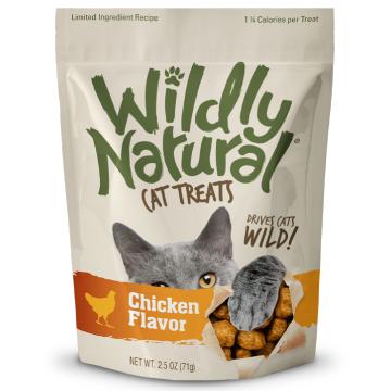 [フルータブル] ワイルドリィ・ナチュラル チキンフレーバー 猫用おやつ