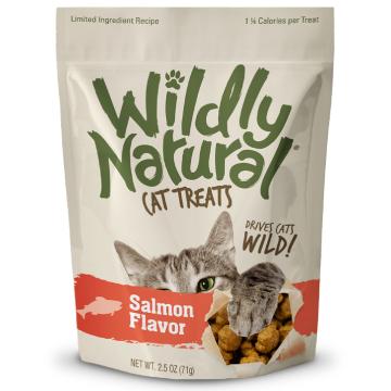 [フルータブル] ワイルドリィ・ナチュラル サーモンフレーバー 猫用おやつ