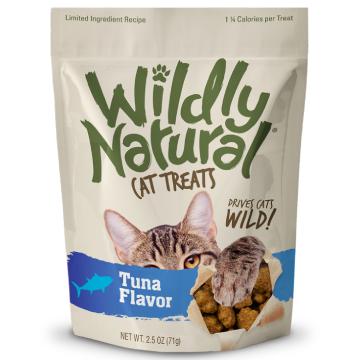 [フルータブル] ワイルドリィ・ナチュラル マグロフレーバー 猫用おやつ