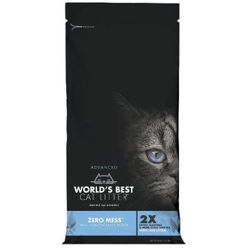 [ワールドベストキャットリター(猫砂)] ゼロミス 2kg/5kg 散らかりにくい/トイレに流せる/ナチュラル原料で安心・安全