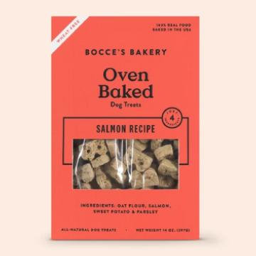 [ボッチェーズベーカリー] サーモン ビスケット 397g 小麦粉不使用 ドッグトリーツ