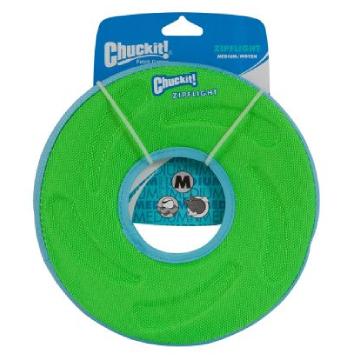 [チャック イット] ジップフライト M 犬用おもちゃ 水に浮く フリスビー
