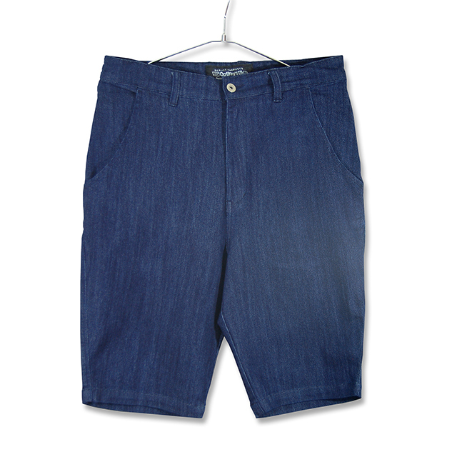 DENIM SARROUEL SHORT PANTS