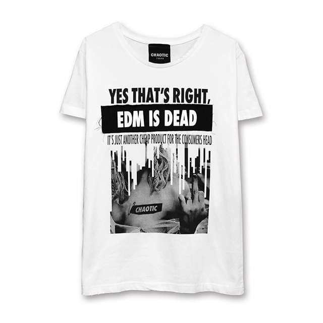 EDM IS DEAD DAMAGE Tee