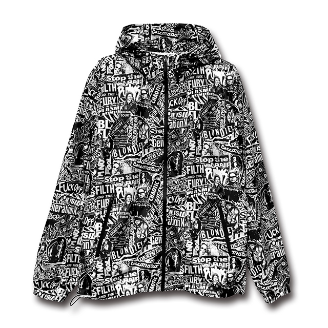 Collage Nylon Jacket